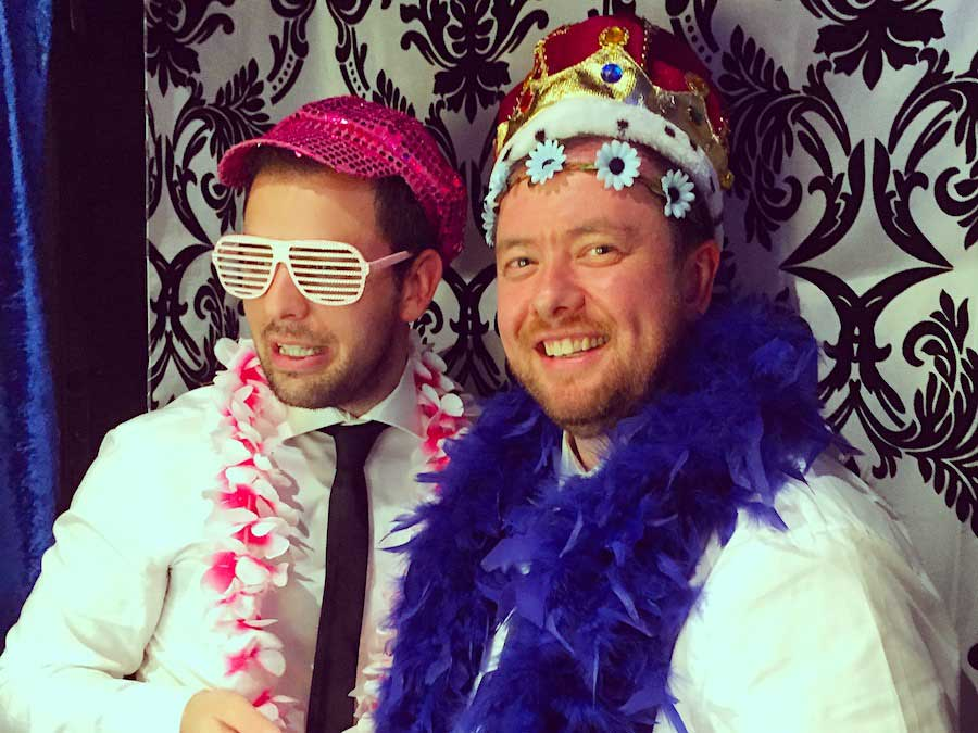 Glam Photobooths - Classic Photo Booth with The King Inside
