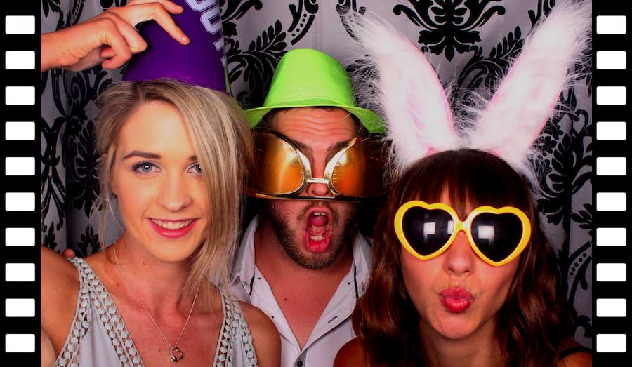 Photo booth fun at The Elizabethan Lodge